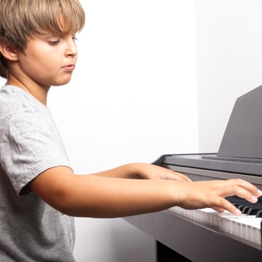 Piano lessons for teens